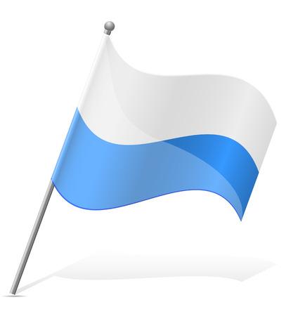 marino: flag of San Marino illustration isolated on white background Stock Photo