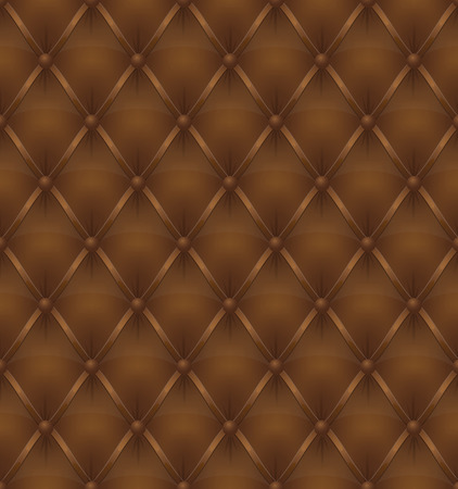 brown leather: brown leather upholstery seamless background vector illustration