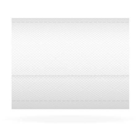 cellulose: toilet paper illustration isolated on white background