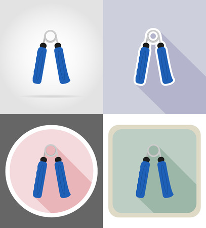expander: expander flat icons vector illustration isolated on background Stock Photo