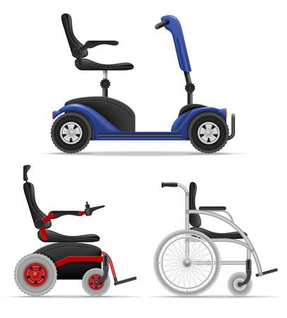 障害者株式ベクトル図が白い背景で隔離の車椅子 写真素材