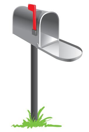 mailbox Stock Vector - 8501698