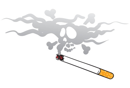 smoking kills Illustration