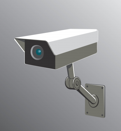 illustration of a security camera