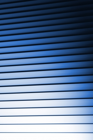 intrigue: Blue Noir Bedroom Blinds