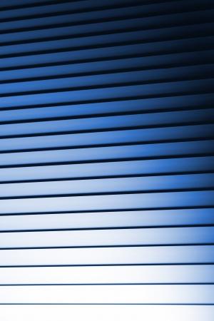 Blue Noir Bedroom Blinds