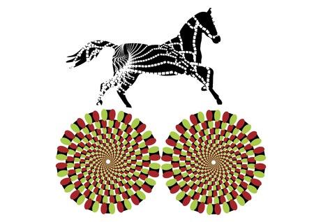 celerity: patr�n caballo corre en un c�rculo, creando el efecto de movimiento