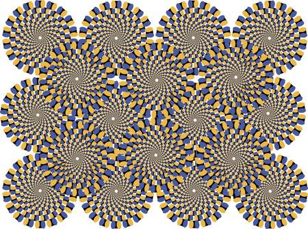 celerity: c�rculos de colores representan el efecto de movimiento