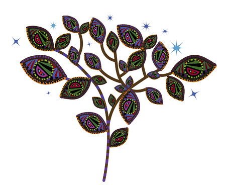 desires: magic tree in the ethnic style fulfill all your desires