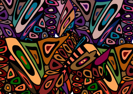 beautiful abstract background, which expresses the beauty of africa