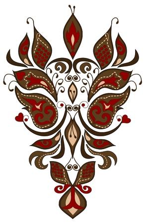 slavic: modello di diversi elementi in stile slavo
