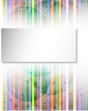abstract techno background of the various elements (eps10) Stock Vector - 12136771