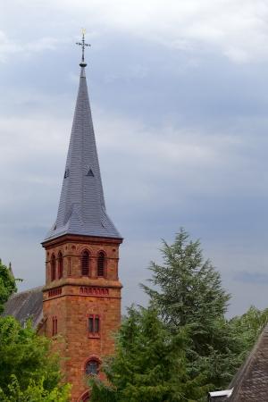 A church in small city Saarburg, Rheinland-Pfalz, Germany Stock Photo - 14831508