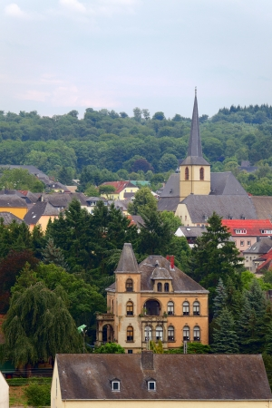 smal: Smal city Saarburg, Rheinland-Pfalz, Germany, summer