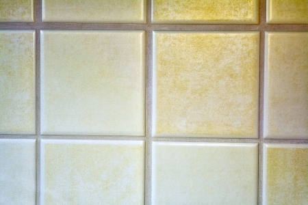 Close up of a new modern  tiled wall in a kitchen, Saarland  Germany photo