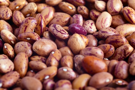 Closeup of red beans as a food background Stock Photo - 16443639