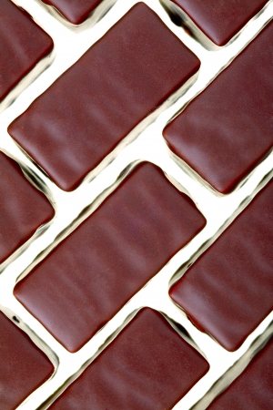 Close up of a chocolates cream-filled isolated on white background Stock Photo - 16944233