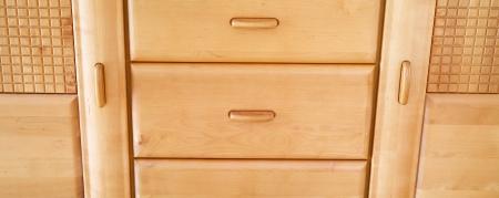 alder: Close up of alder furniture detail