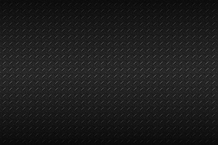 diamante negro: de fondo sin fisuras de metal negro. Foto de archivo