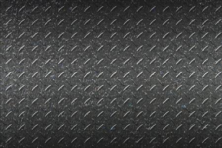 ironworks: seamless black metal background. Stock Photo