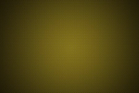 carbon fiber: golden carbon fiber with black gradient color, background and texture. Stock Photo