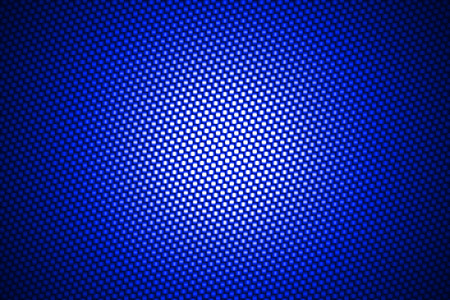 blue background texture: spotlight on blue carbon fiber background.