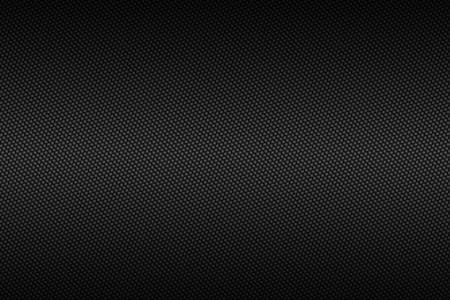 chroom carbon fiber met zwarte gradient kleur, achtergrond en textuur. Stockfoto