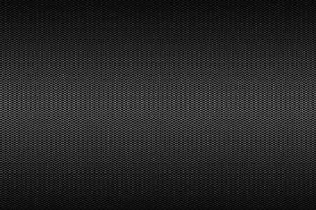 黒のグラデーション カラー、背景テクスチャとクロム炭素繊維。 写真素材