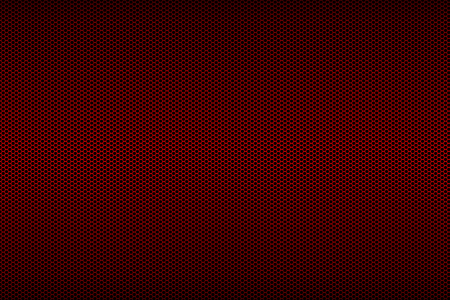 fray: black and red metallic mesh fray  background texture.