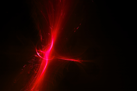 lighting effect: red glow wave. lighting effect abstract background for your business.