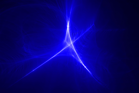 lighting effect: blue glow wave. lighting effect abstract background for your business. Stock Photo