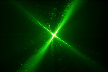 lighting effect: green glow energy wave. lighting effect abstract background for your business. Stock Photo
