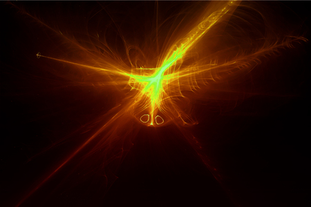 lighting effect: yellow glow energy wave. lighting effect abstract background for your business.