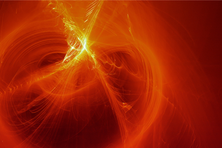 energy background: red glow energy wave. lighting effect abstract background for your business. Stock Photo