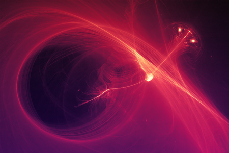 supernatural: purple glow energy wave. lighting effect abstract background. This image is suitable for any purpose, such as science, fantastic, sci-fi, horror, supernatural and etc.