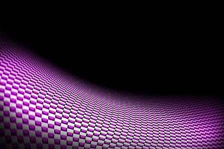 purple car: purple curve carbon fiber on the black shadow. car accessories.  background and texture.