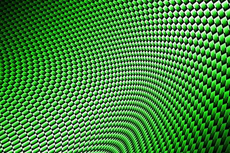 De fibra de carbono curva verde en la sombra negro. fondo y la textura. Foto de archivo - 56264769