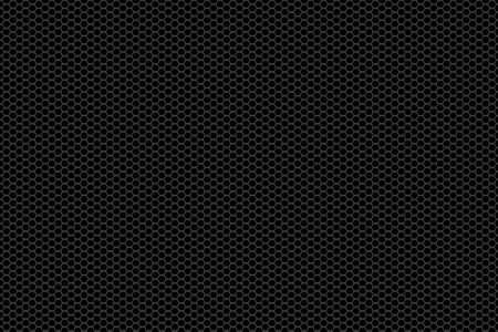 metal mesh: black and silver metallic mesh background texture.