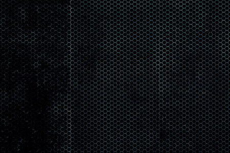 blue metallic background: black, blue and rust metallic mesh background texture.