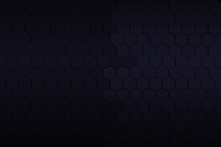 grey pattern: black and blue hexagon background and texture