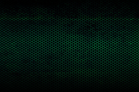metallic texture: black, green and rust metallic mesh background texture.