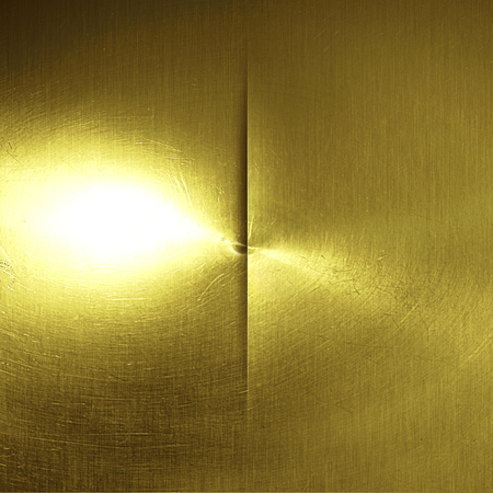 steel sheet: shiny gold wall. golden background and texture. 3d illustration.
