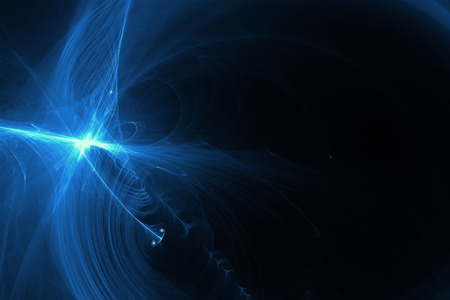 lighting effect: blue glow energy wave. lighting effect abstract background.