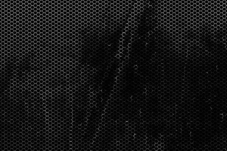 black metallic background: black, rust  metallic mesh background texture.