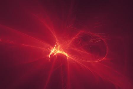 lighting effect: purple red glow energy wave. lighting effect abstract background. Stock Photo