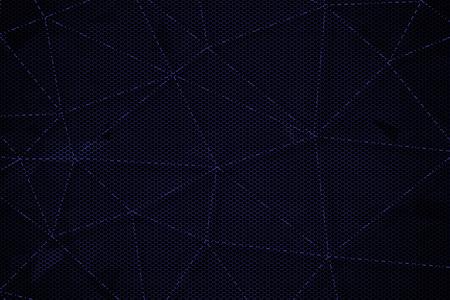 black and blue metallic mesh background texture. Stock Photo