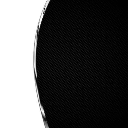 chromium: black carbon fiber and curve chromium frame. metal background. material design. 3d illustration. Stock Photo