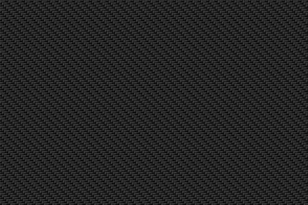 schwarze Kohlefaser Hintergrund und Textur für Materialdesign. 3D-Darstellung.