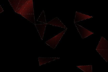 black metallic background: black and red metallic mesh background texture.