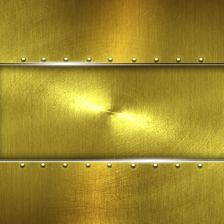 shiny gold: shiny gold fix wall. gold background and texture. 3d illustration. Stock Photo